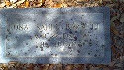 Edna <i>Sauls</i> Barnett