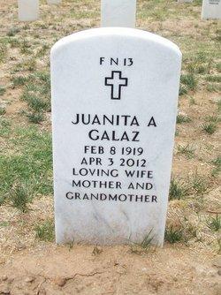 Juanita A <i>Archuleta</i> Galaz