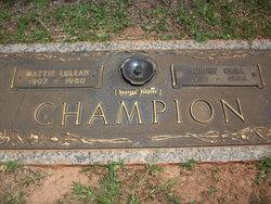 Hubert Olna Champion, Sr