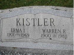 Mrs Erma Irene <i>Hamm</i> Kistler