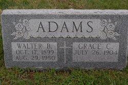 Walter B Adams