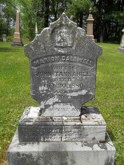 Marion <i>Caldwell</i> Tannahill