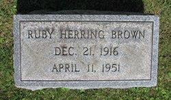 Ruby <i>Herring</i> Brown