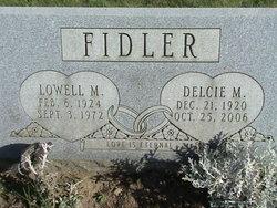 Delcie M <i>Dunfee</i> Fidler