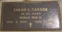 Sarah <i>Lyon</i> Garside