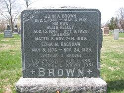 Edna Mae <i>Brown</i> Bagshaw