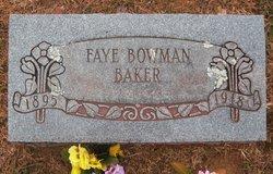 Faye <i>Bowman</i> Baker