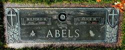 Alice M Abels