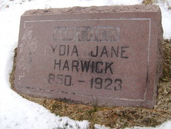 Lydia Jane Harwick