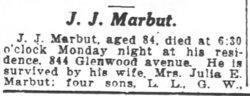 Job Joshua Marbut
