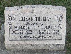 Elizabeth May Boldrey