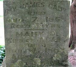 Rev James D Cady