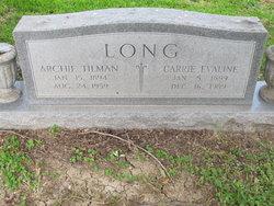 Carrie Evaline Long