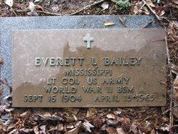 Everett Leo Bailey
