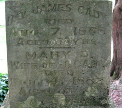 Mary D <i>Dolbear</i> Cady