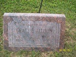 Grace B <i>Bullard</i> Allison