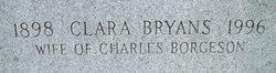 Clara <i>Bryans</i> Borgeson