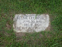 Bessie Lee <i>Brockwell</i> Bishop