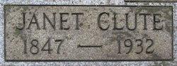 Janet I. Nettie <i>Hanchett</i> Clute