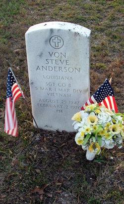 Sgt Von Steven Anderson