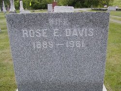 Rosa Eliza <i>Davis</i> Blood