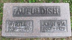 John W Aufuldish