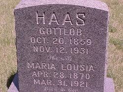 Maria Louisa <i>Pasch</i> Haas
