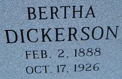 Bertha <i>Dickerson</i> Archer