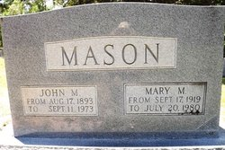 John Marvin Mason