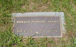 Ronald Howard Adams
