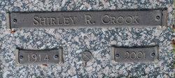 Shirley R Crook