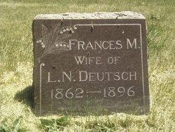 Frances M Deutsch