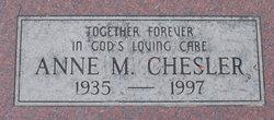 Anne Maria <i>Ayhens</i> Chesler
