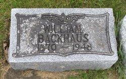William Backhaus