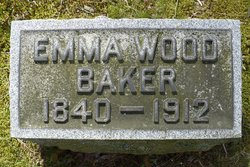 Emma J <i>Wood</i> Baker