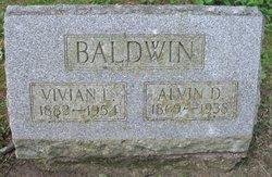 Alvin D Baldwin