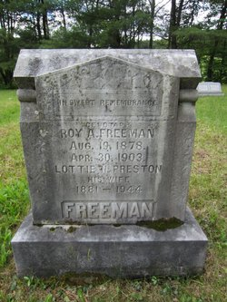 Lottie Naomi <i>Preston</i> Freeman
