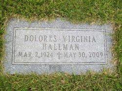 Dolores Virginia Hallman