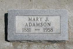 Mary J Adamson