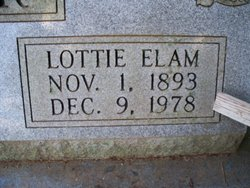 Lottie Mae <i>Elam</i> Brewer