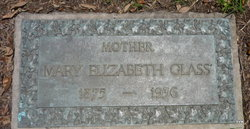 Mary Elizabeth Glass