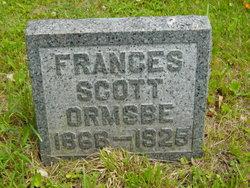 Frances <i>Scott</i> Ormsbe