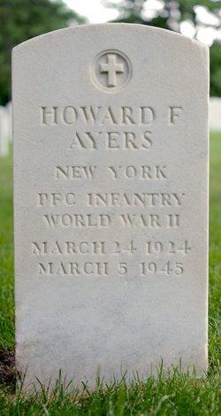 PFC Howard F Ayers