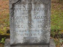 Mary Lula <i>Parker</i> Adams