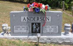PFC Billy Gene Anderson