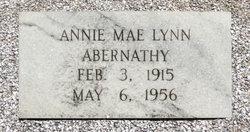 Annie Mae <i>Lynn</i> Abernathy