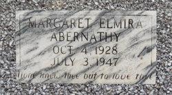 Margaret Elmira Abernathy