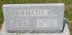 Lillian V <i>Kendig</i> Fields