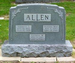 Bertha May <i>Williams</i> Allen