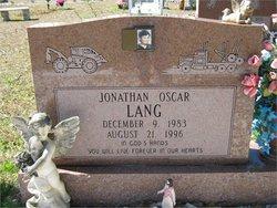 Jonathan Oscar Lang